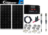 D- CP-160 2 panel kit 320 watts with PR3030 controller