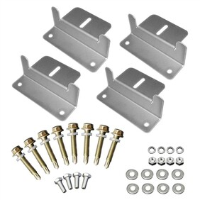 Brackets set of 4