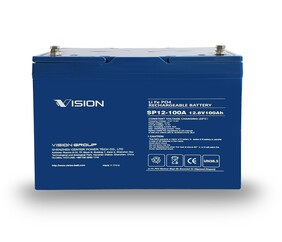 Vision SP12-100A Lithium Battery 12 volt 100 ahr