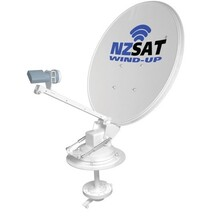 NZ Sat Wind Up Dish 60cm